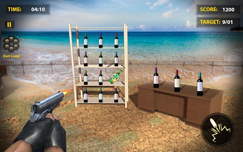 Ultimate Bottle Shooting Game : New Free 2020 for pc