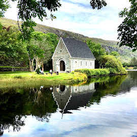 Gougane Barra, Cork, Ireland  by Liadh Crowley  - Novices Only Landscapes ( reflection, ireland, nature, church, summer )