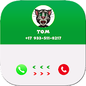 Call from cat talking Tom