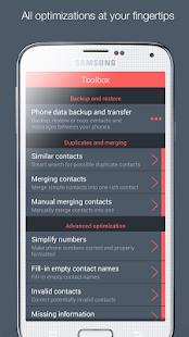 App Contacts Optimizer APK for Kindle