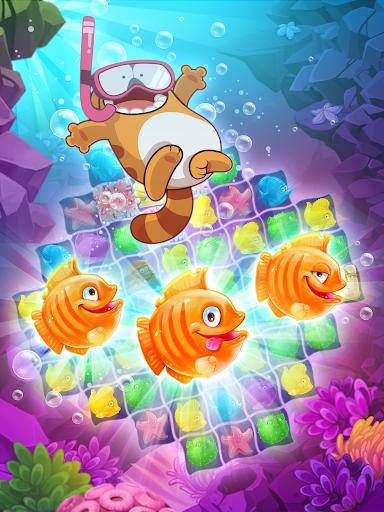 Viber Mermaid Puzzle Match 3 screenshot 15