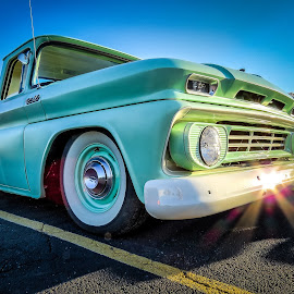 Chevy Truck by Ron Meyers - Transportation Automobiles