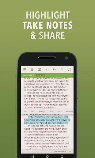 NIV Bible by Olive Tree screenshot 2