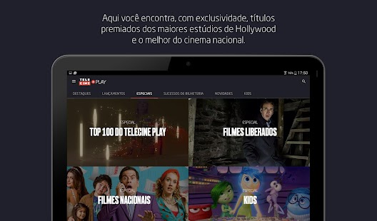 Download Android App Telecine Play - Filmes Online for Samsung