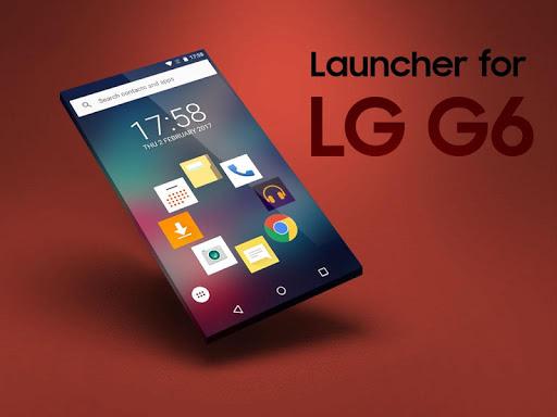 Launcher for LG G6 screenshot 2