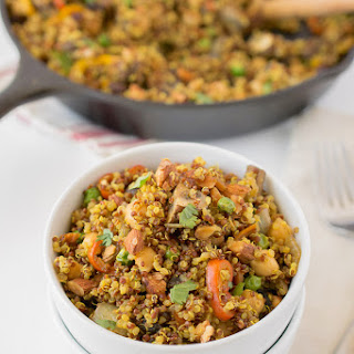 Curried Quinoa With Vegetables Recipes