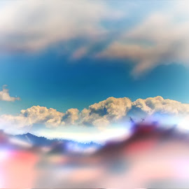 by Sandra Cid - Landscapes Cloud Formations