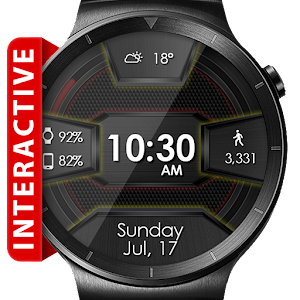 Cover art Daring Carbon HD Watch Face