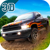 Off-road Hilux Pickup Truck Race - Forest
