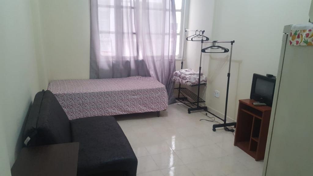 Apartamento com 1 dormitório para alugar, 23 m² por R$ 800/mês - 5 Estrela - Rio de Janeiro/RJ