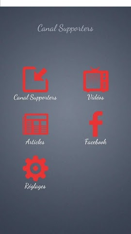 android Canal Supporters Officiel Screenshot 4