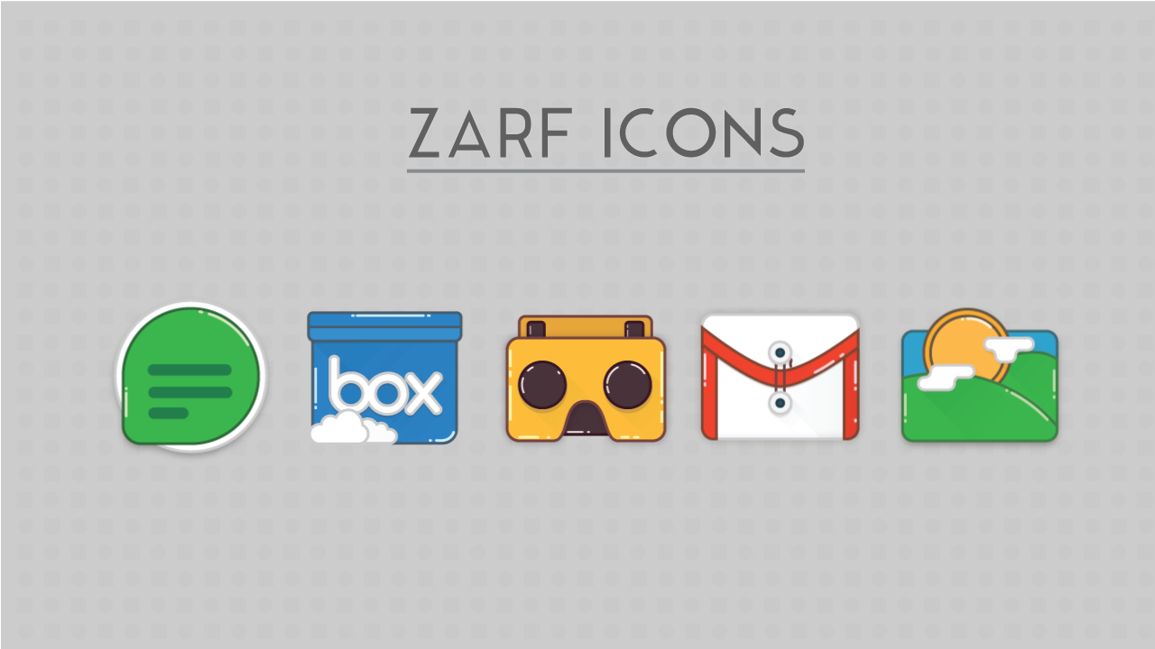 Zarf - Icon Pack (SALE.!!) Screenshot 3