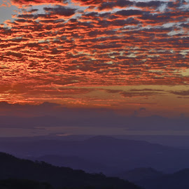 Costa Rica Gulf Landscape by Norma Brandsberg - Landscapes Mountains & Hills (  )