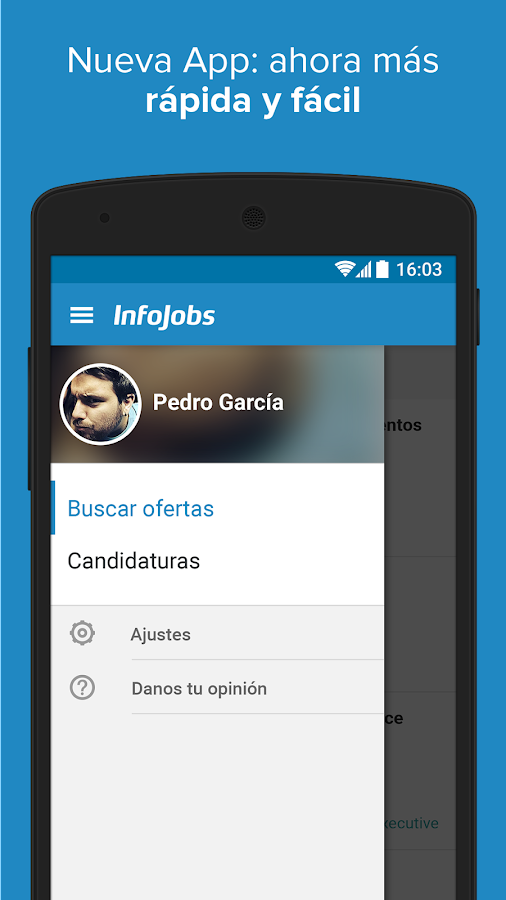 InfoJobs - Job Search Screenshot 1