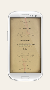 Analog Weather Station screenshot for Android