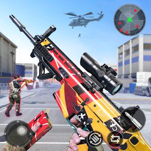 Gun Ops : Anti-Terrorism Commando Shooter Online PC (Windows / MAC)