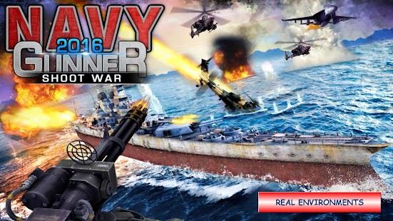 Navy Gunner Shoot War 3D APK for Blackberry