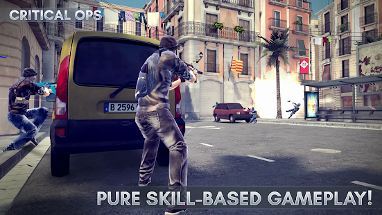 Game Critical Ops apk for kindle fire