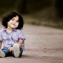 Naurah Ariana by Mohd Nazmie Ab Malek - Babies & Children Child Portraits ( love, natural light, girl, family, dress, beautiful, lifestyle, outdoor, kids, cute, light, KidsOfSummer )