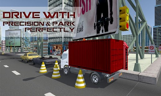Mega Truck Driving School - screenshot