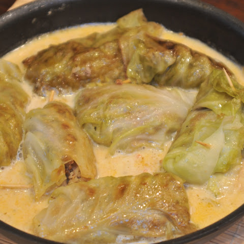 German Stuffed Cabbage Rolls