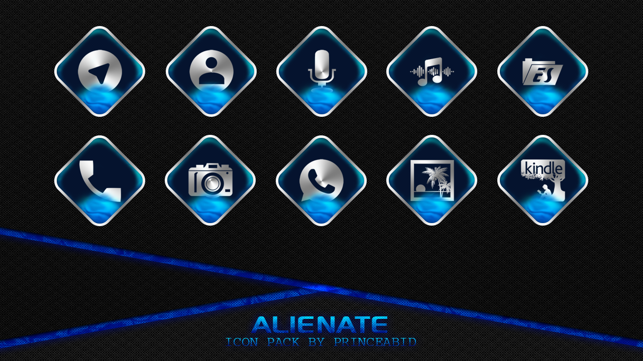 Alienate Icon Pack Screenshot 0