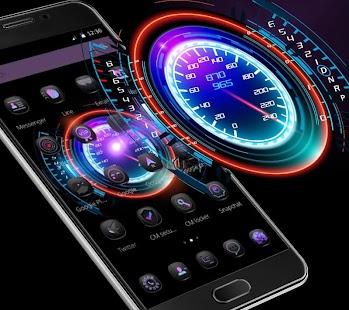 Neon Racing Car Hologram Tech APK for Nexus