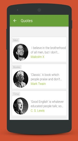 android Impressive Quotes Screenshot 4