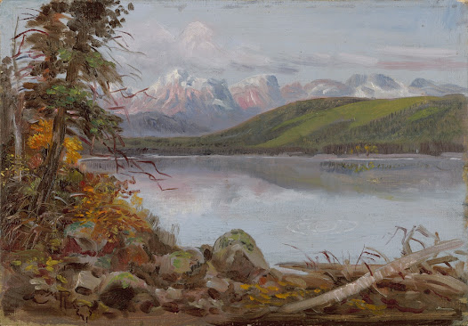Cowboy artist Charles Russell built a  summer cabin on Lake McDonald in Glacier National Park in Montana for himself in 1905. He named it Bull Head Lodge after his signature that features a bull skull. He played host to many visiting artists who made the scenery of the park the subject of their work.