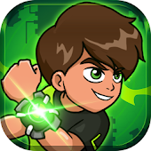 Download Hero kid - Ben Alien Ultimate Power Surge APK on PC