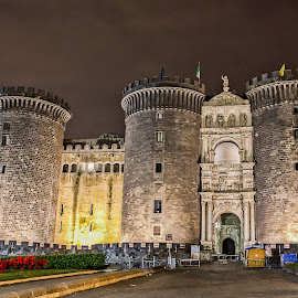 Castle Nuovo in Naples, Italy by Dmitriy Andreyev - Buildings & Architecture Public & Historical ( naples, castle, italy,  )