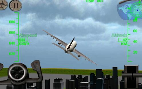 3D Airplane Flight Simulator for pc