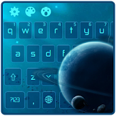 Blue Space Planet APK for Bluestacks