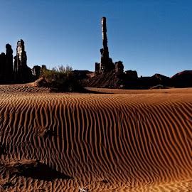 Monument Valley-1 by Kevin Whitaker - Landscapes Deserts ( monument valley, indian nation, utah, travel, landscape )