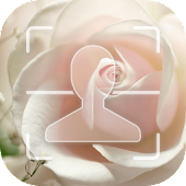 App White Rose Facelock theme APK for Kindle