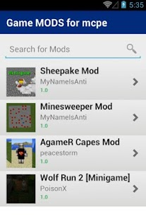 Download Game MODS for mcpe APK for Android