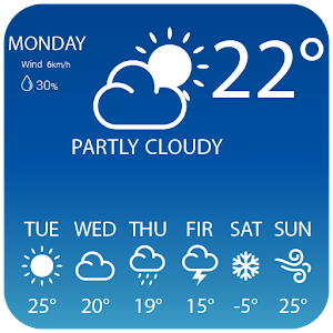 Live Weather Widget for Free for Android