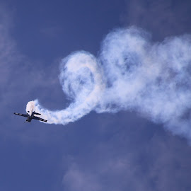 Spiral by Robin Smith - Transportation Airplanes ( aviation, airplane, transportation, air show )