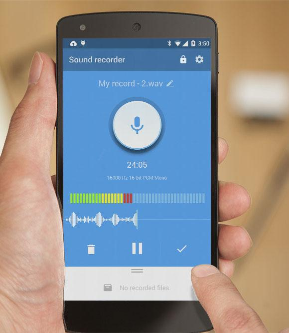 Recordr - Sound Recorder Pro Screenshot 6