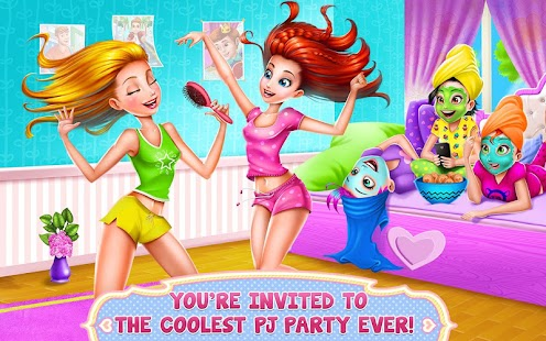 Game Girls PJ Party - Spa & Fun apk for kindle fire