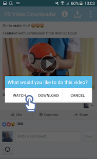 App Download FB Videos Plus version 2015 APK
