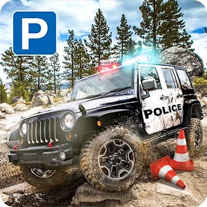 4x4 Offroad Police Car Parking