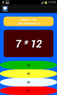 CrazyMath - screenshot
