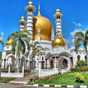 Mosque at Perak, Malaysia by Mohd Aidy Faizal Johari - Buildings & Architecture Places of Worship