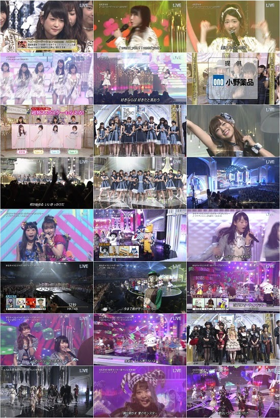 (TV-Music)(1080i) AKB48G 乃木坂46 Part – THE MUSIC DAY 音楽は太陽だ。 150704