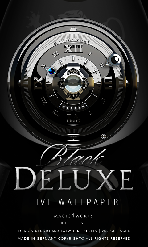 Deluxe Clock Bundle LWP Screenshot 0