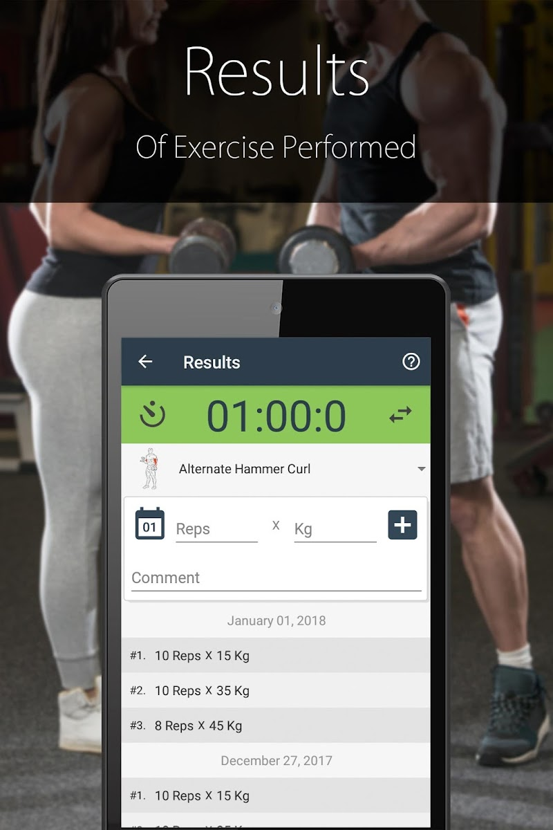 Fitness Trainer FitProSport FULL Screenshot 2