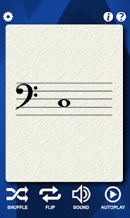 Cello Notes Flash Cards