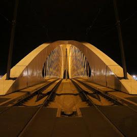 Trojsky bridge above the Moldau by Luboš Zámiš - Buildings & Architecture Bridges & Suspended Structures