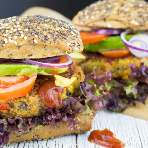 Chickpea Quinoa Power Burger